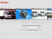 Isuzu Cyprus Website Screenshot
