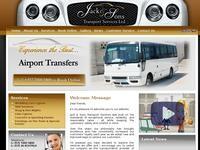 Jack & Sons Transport Services Website Screenshot