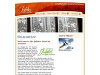 Jubilee Hotel Website Screenshot