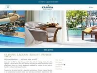 Kanika Hotels Website Screenshot