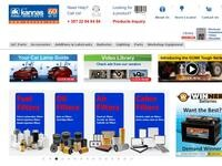 Andreas I Kannas Website Screenshot