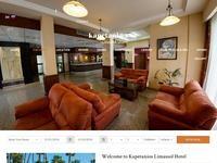 Kapetanios Limassol Hotel Website Screenshot