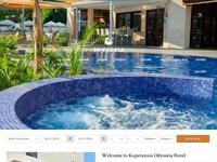 Kapetanios Odyssia Hotel Website Screenshot