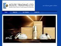 Kolte Trading Website Screenshot