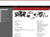 Kyoto Spare Parts Website Screenshot