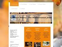 Lambouri Winery Website Screenshot