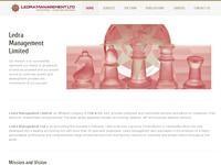 Ledra Management Website Screenshot