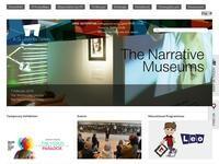 Leventis Gallery Website Screenshot