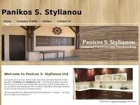 Panicos Stylianou Website Screenshot