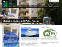 Mariela Hotel Apts Website Screenshot