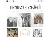 Marisa Castelli Website Screenshot