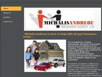 Michael Andreou Website Screenshot