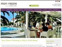 Mon Repos Hotel Website Screenshot