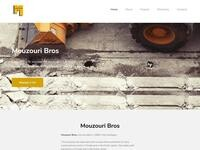 Mouzouri  Bros Construction Website Screenshot
