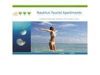 Nautilus Apartments Cyprus Website Screenshot