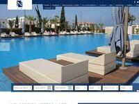 Nestor Hotel Website Screenshot