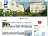 Nikki Holiday Website Screenshot