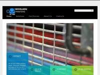 Nicolaou Printing Website Screenshot
