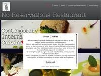 No Reservations Restaurant