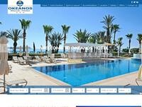 Okeanos Beach Website Screenshot