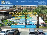 Pagona Hotel Apartments Website Screenshot