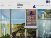 Costas Papaellinas Organization Website Screenshot