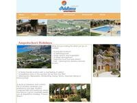 Ampelohori Apts Website Screenshot