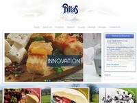 Pittas Dairy Website Screenshot