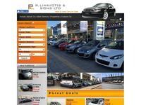 Panayiotis A Limniotis Website Screenshot
