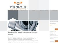 Psaltis Auto Spare Parts Website Screenshot
