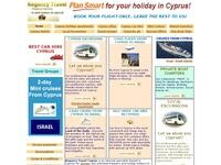 Regency Travel & Tours Website Screenshot