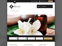 Rimi Hotel Website Screenshot