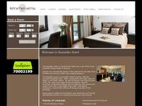 Royiatiko Hotel Website Screenshot