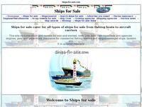 Ships-For-Sale.com Website Screenshot