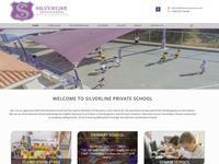 Silverline School Website Screenshot