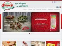 Snack Website Screenshot