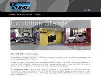 Sofokleous Signs Website Screenshot