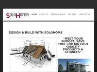 SoloHome Website Screenshot