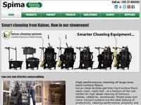 Spima Website Screenshot