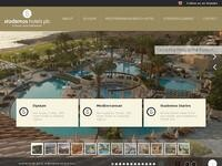 Stademos Hotels Website Screenshot