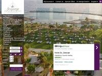 St George Hotel Paphos Website Screenshot