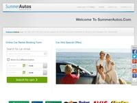 Summer Autos Website Screenshot