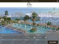 Sunrise Hotels Website Screenshot