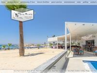 Tasia Maris Beach Hotel Website Screenshot
