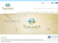 Thalassa Conference Limassol Website Screenshot