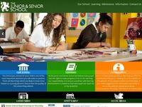 The Junior School Website Screenshot
