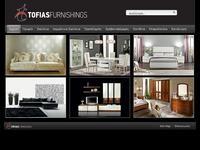 Tofias Furnishings Website Screenshot