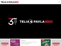 Telia & Pavla Advertising Website Screenshot
