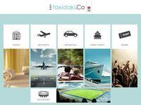 TravelNet Website Screenshot