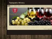 Tsalapatis Winery Website Screenshot